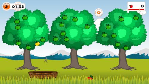 TyroS Software Game Äpfel